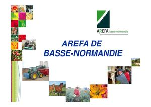 Bilan emploi emploi production agricole Basse Normandie