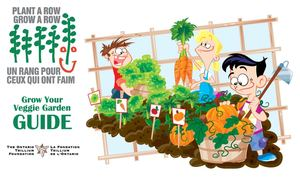 Plant a Row - Grow Your Veggie Garden - How to Handbook