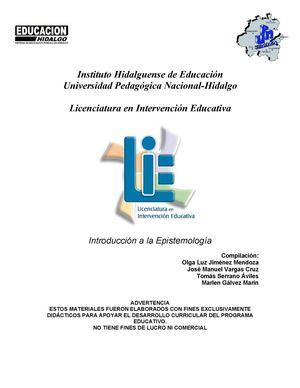 Calaméo - CURSO INTR EPISTEMOLOGIA