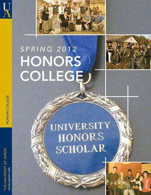 Honors College 2012 Summer Magazine