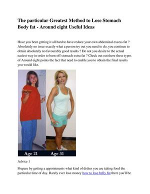 best ways to burn belly fat fast