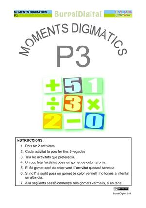 Moments digimàtics de P3