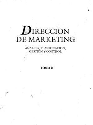 Calaméo - Dirección de Marketing tomo II