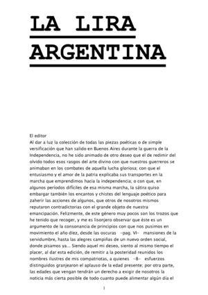 Calaméo - LA LIRA ARGENTINA - AA