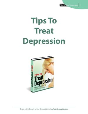 Tips to Treat Depression