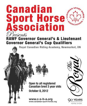 CSHA RAWF 2nd GG & LG Cup Qualifier Oct 8, 2012