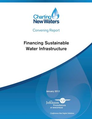 Financing Sustainable Water Infrastructure