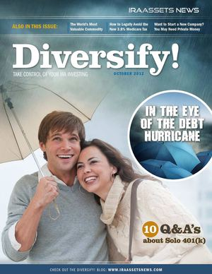 Diversify!    IRA Assets News - Oct 2012