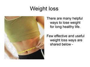 Get Free and Effective Ideas on Weight Loss