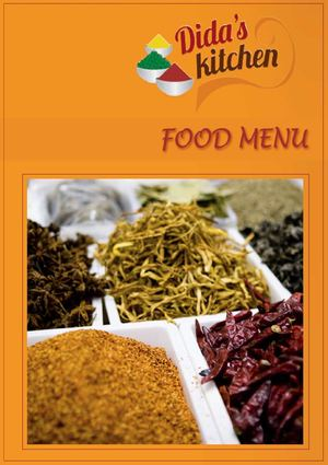 Dida's Kitchen - Food Menu
