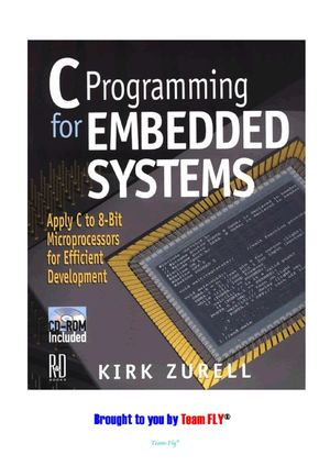 CMP Books - C Programming for Embedded Systems