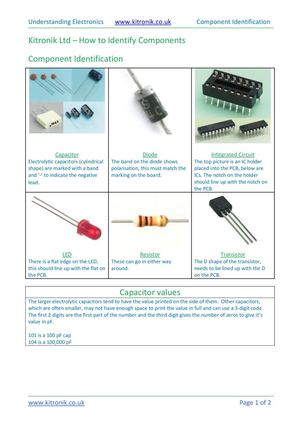 Calaméo - How to identify electronic components
