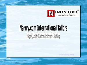 Narry International Tailors for High Quality Custom Tailored Clothing