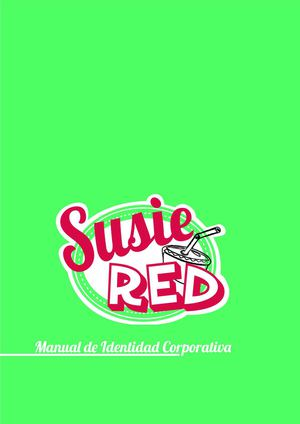 Corporated Identity Manual Susie Red