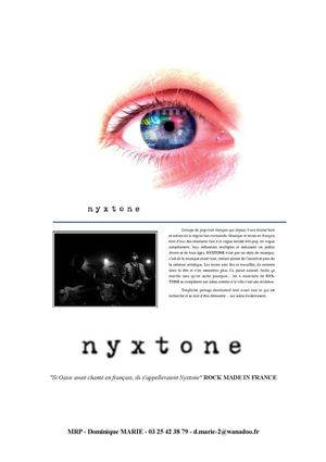 nyxtone press book