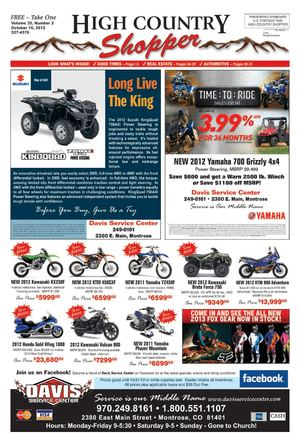 High Country Shopper 10.10.12