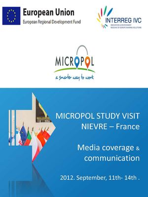 MICROPOL STUDY VISIT MEDIA COVERAGE BOOK