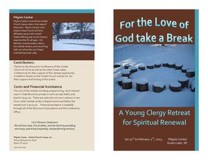 Young Clergy Retreat Flyer