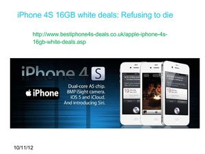 apple iphone 4s 16gb white contract deals