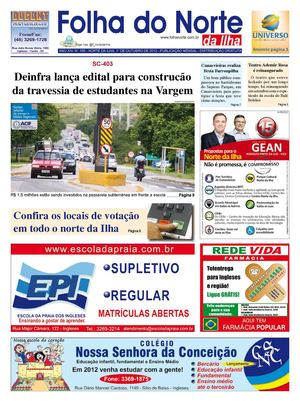Folha do Norte da Ilha ed 166