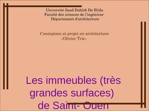 LES IMMEUBLES T.G.S(lilya-wiam)