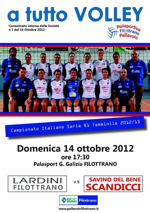 A tutto volley 12/13 n. 1