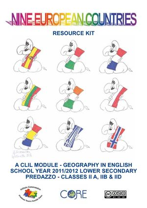 Nine European Countries - Resource Kit for teachers