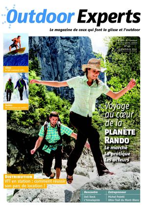 Outdoor Experts magazine n°140 septembre 2012
