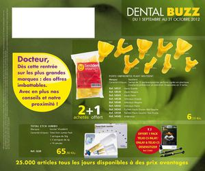 Dental buzz septembre octobre 2012