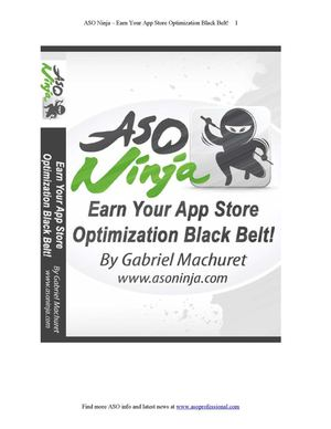 ASO Ninja, the App Store Optimization Book