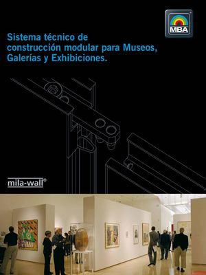 Calam o paredes modulares para galer as de museos y - Paredes modulares ...