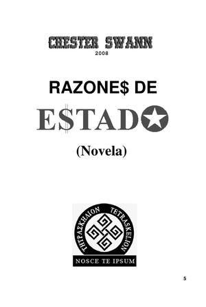 27a525fb2645 Calaméo - Razones de Estado - por Chester Swann