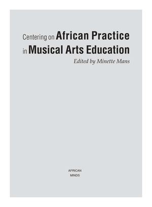 Calam O Centering On African Practice In Musical Arts