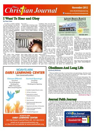 The Christian Journal November Edition 2012