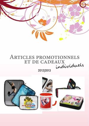 Catalogue PE sans prix