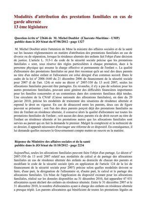 Calameo Modalites D Attribution Des Prestations Familiales En Cas