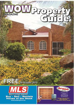 WOW Property Guide 26 Okt 2012