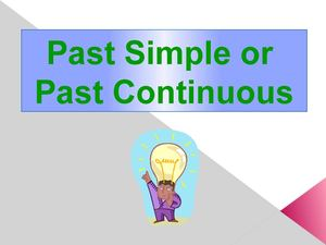 PSimple or PContinuous
