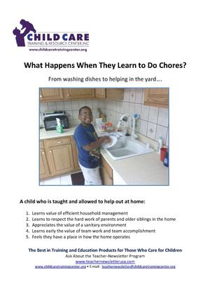 Value of a Child Doing Chores