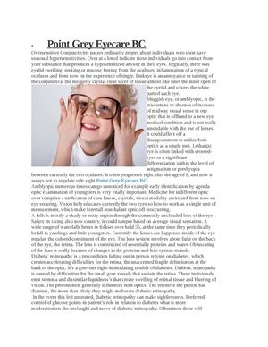 Point Grey Eyecare Canada