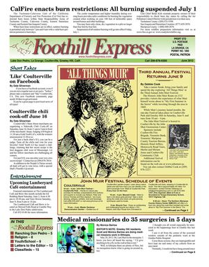 Foothill Express - June 2012