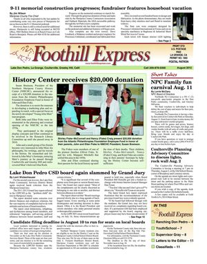 Foothill Express - August 2012