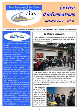 Journal N°8 du CIAS