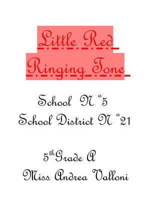 Little Red Ringing Tone by 5th Grade School 5 S.D.21