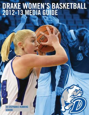 2012-13 Drake Women's Basketball Media Guide