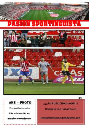 Revista Pasion Sportinguista Nº 1