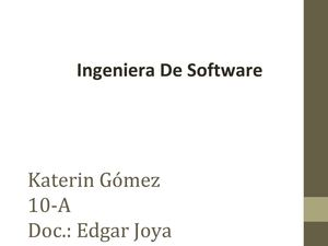 Ingenierian Software