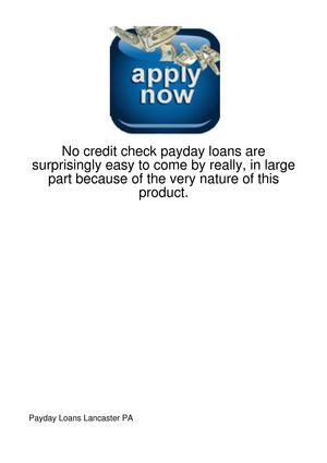 No-Credit-Check-Payday-Loans-Are-Surprisingly-Easy120