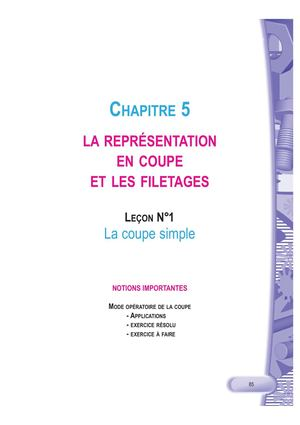 C C 5 L 1 LA COUPE SIMPLE