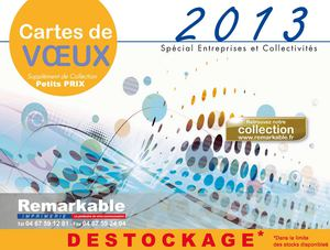 DESTOCKAGE Cartes de Vœux